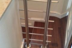 Treppenrenovierung Treppengelände akkurate Bodenverlegung